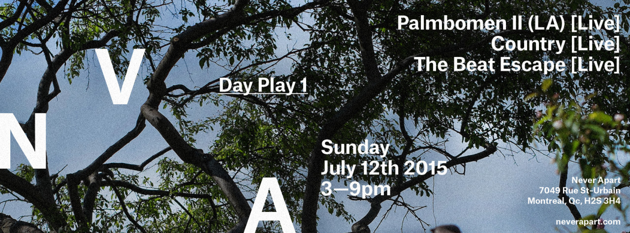 Day Play 1 : Palmbomen II / Country / The Beat Escape