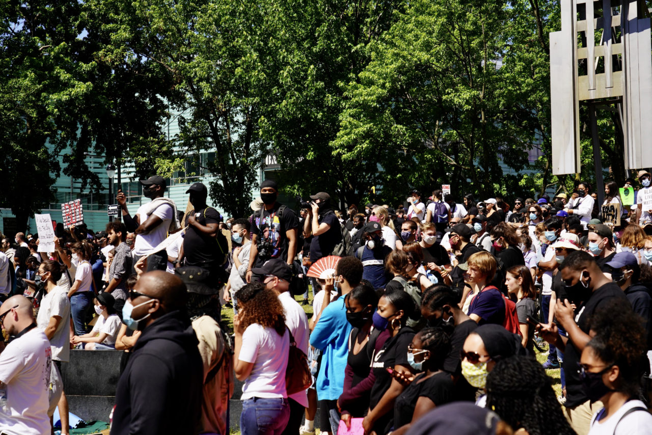 A Look at the Black Lives Matter Montreal March June 7th