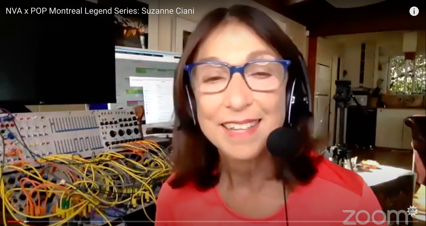 NVA x POP Montréal Legend Series: Suzanne Ciani