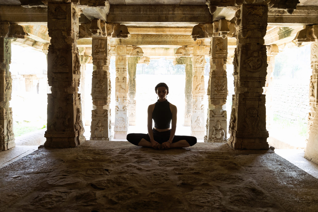 In Spirit: How can I be in the present moment during my yoga practice?